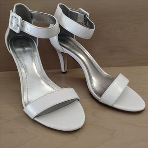 Style and Co. White high heel sandals size 7M